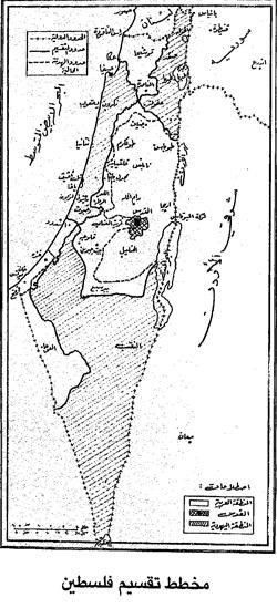 تقسيم فلسطين