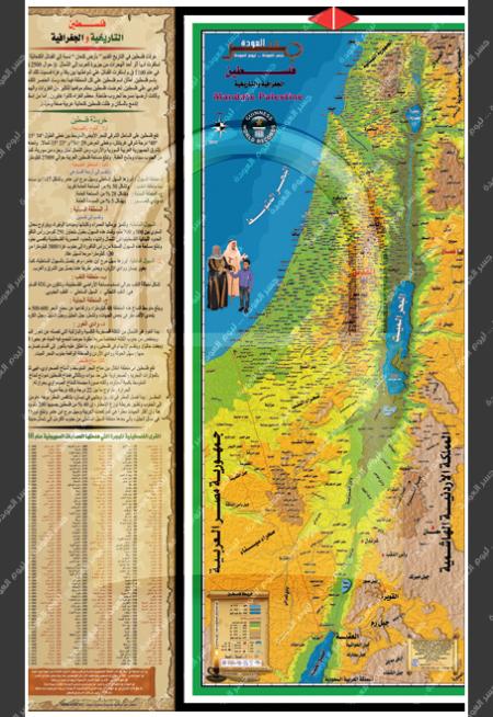 خريطة فلسطين 1