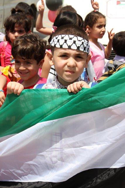 مسيرة الأطفال في ذكرى النكبة